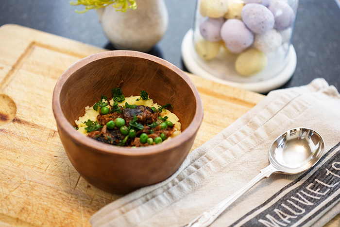 Spring Lamb Stew with Peas