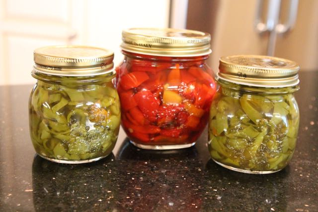 Franny's Pickled Peppers