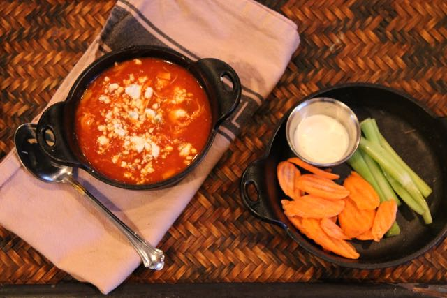 "Buffalo Chicken ""Chili""  A Game Day Favorite for #SundaySupper"
