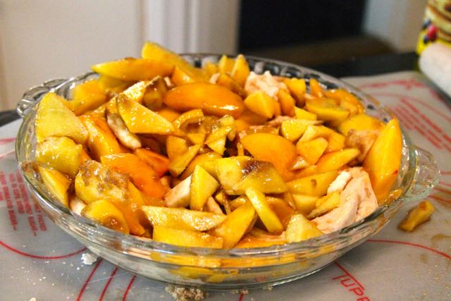 Peach Willy #SundaySupper
