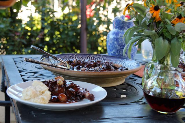 Coq au Vin:  Celebrating Julia #JuliaChild